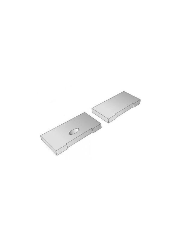 Kit Tappi Alluminio Per Profilo...