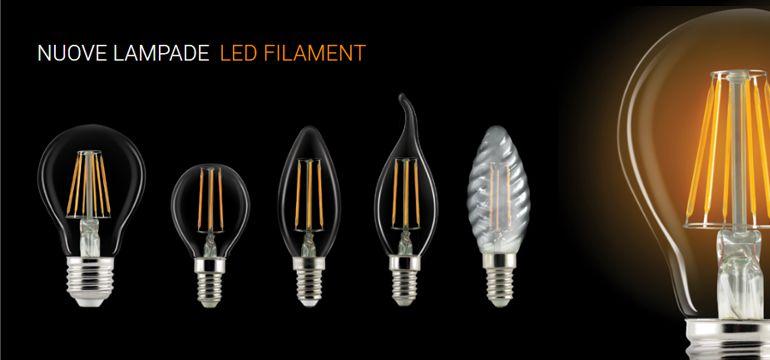 Tre motivi per scegliere lampadine led a filamento jolight for Lampadine a filamento led