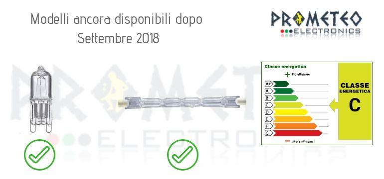 Lampade Alogene Disponibili Dopo 2018
