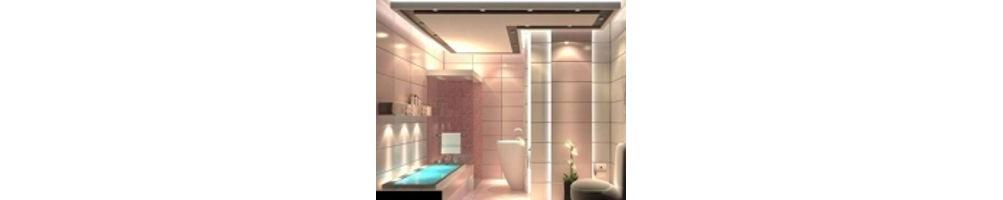Illuminazione per toilet